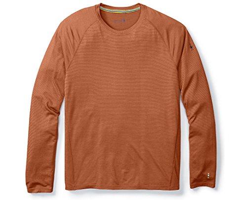 - SmartWool Men's Merino 150 Baselayer Pattern Long Sleeve (Cardamom) Large