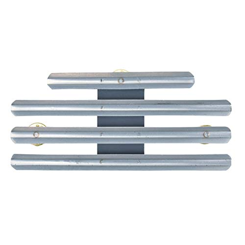 - Medals of America 11 Ribbon or Medal 1/8th Inch Spacing Mounting Bar Silver