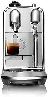 Nespresso, Cafetera Creatista Plus, Color Metal (Incluye obsequio de 14 cápsulas de café)