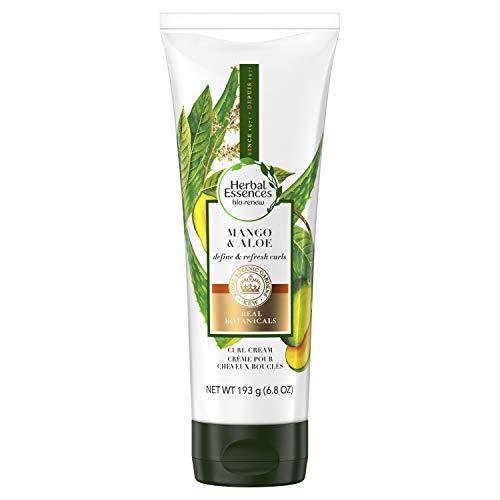 Herbal Essences bio: renew Mango & Aloe Curl Cream - Define & Refresh Curly Hair, 193 Grams