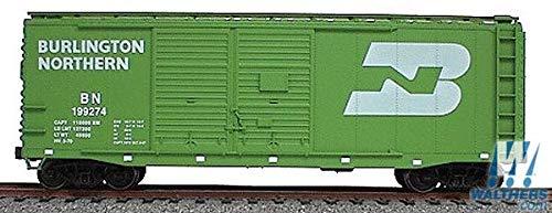40' AAR Double-Door Boxcar - Kit (Plastic) -- Burlington Northern (green)