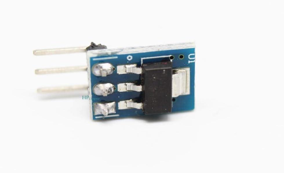 WillBest 5PCS AMS1117-3.3 DC 5V to 3.3V Step-Down Power Supply Module AMS1117-3.3 LDO 800MA