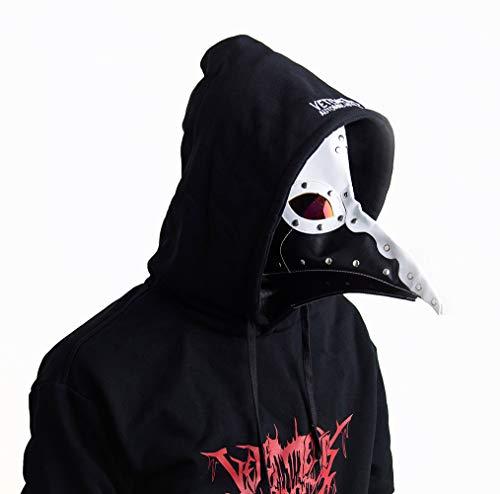 Gmasking Steampunk Plague Doctor Adult Mask Birds Long