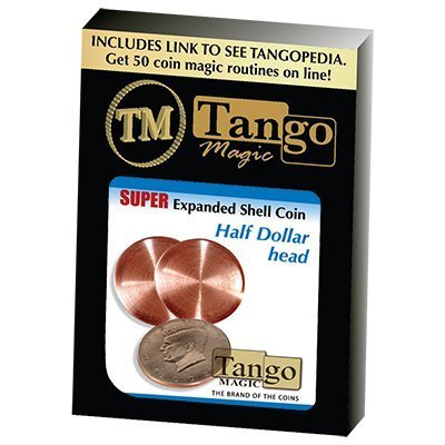MMS Super Expanded Shell Half Dollar Head by Tango -Trick (D0081): Toys & Games
