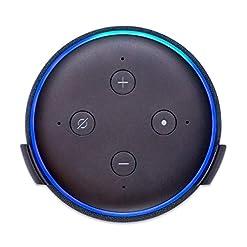 Wall Mount Stand Bracket for Amazon Echo Dot 3rd Gen/Alexa – Black