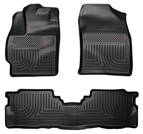 (Husky Liners Front & 2nd Seat Floor Liners Fits 12-17 Prius V )
