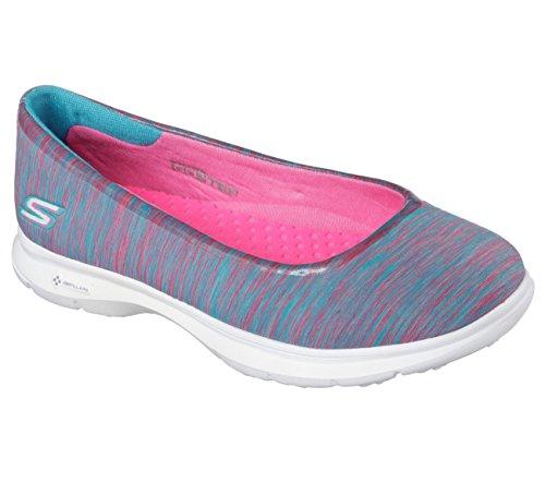 Skechers Go Step (Blue Pink) - 3