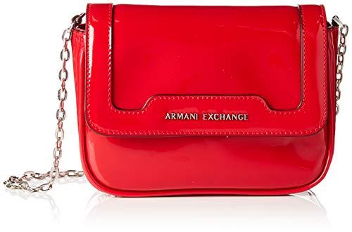 A|X Armani Exchange Women's Big Crossbody Bag, rosso - red 272 ()