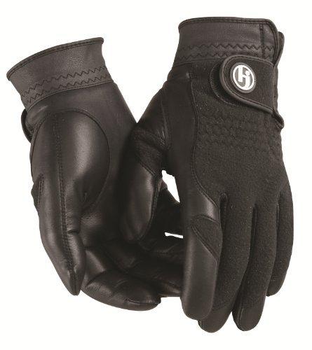 HJ Glove Men's Black Winter Performance Golf Glove Medium Pair [並行輸入品]   B06XFTRRFL