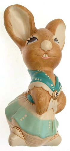 - Pendelfin Mother Rabbit stonecraft rabbit figurine by Jean Walmsley Heap F471