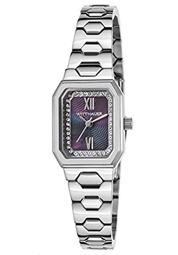 (Wittnauer Silver Tone Baguette Case Watch WN4050)