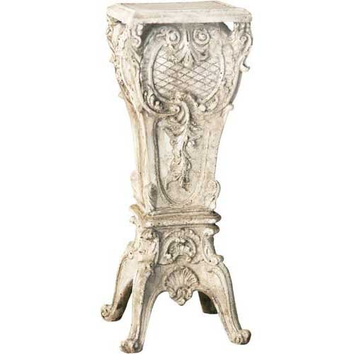 Orlandi Statuary FS8147 French Pedestal 30 Garden Statue, Weather
