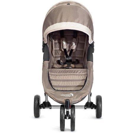 City Mini Single Stroller, Sand/Gray