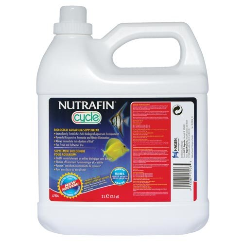 Nutrafin Cycle Biological Filter Supplement, 68-Ounce (Cycle For Aquarium)