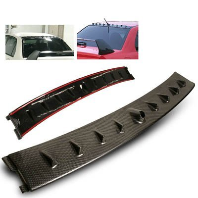 02-07 Mitsubishi Lancer EVO MR Style Vortex Generator Roof Spoiler Carbon Looks