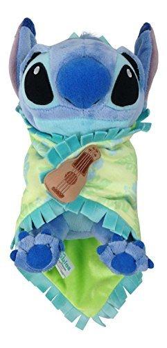 Disney Parks Baby Stitch in a Blanket 10 Inch Plush Doll]()