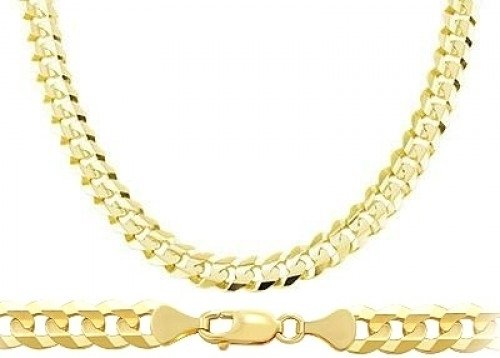 ebay twist chain gold s link brand itm yellow chains italy rope new necklace