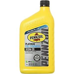 Pennzoil 550022686 Platinum Full Synthetic 5W-20 Motor Oil -1 Quart