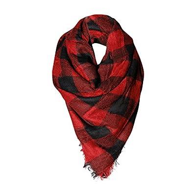 Buffalo Check Womens Fashion Warm Winter Blanket Scarf Fashion Scarves or Shawl