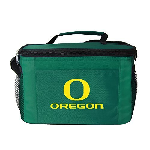 New NCAA College 2014 Team Color Logo 6 Pack Lunch Tote Bag Cooler - Pick Team (Oregon Ducks) (Oregon Ducks Tailgate Cooler)