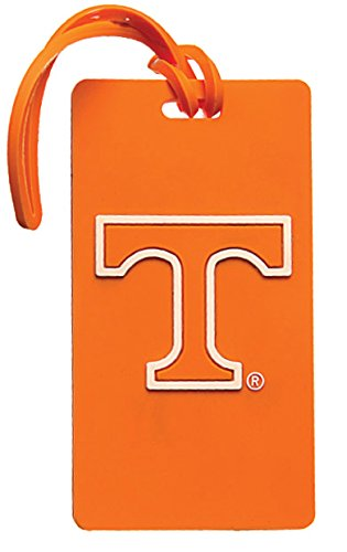 NCAA University of Tennessee Volunteers Rubber PVC Luggage Bag Tag