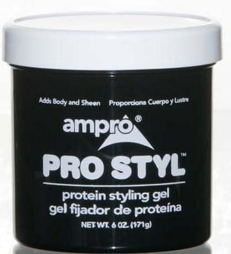 Ampro Ampro Pro Style Protein Styling Gel - 6 oz- Case of 12 (Case Gel Styling)