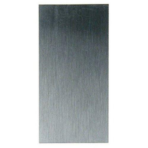 acero al carbono, 12,7 x 6,3 cm W3343 Rascador para armario de madera