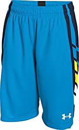 Boy\'s Under Armour Select Basketball Shorts Electric Blue/Midnight Navy/White Size Large