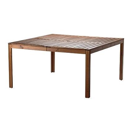 Ikea 702.051.83 Applaro - Mesa de exterior, color marrón