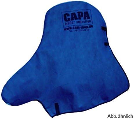 Deichselschutz Blau Capa Deichselschutz Für Pkw Anhängerkupplung Und Stützrad Deichsel Schutzhülle Abdeckung Abdeckplane In Blau Auto