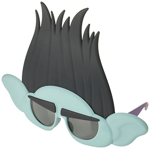 (Costume Sunglasses Trolls Branch Sun-Staches Party Favors)