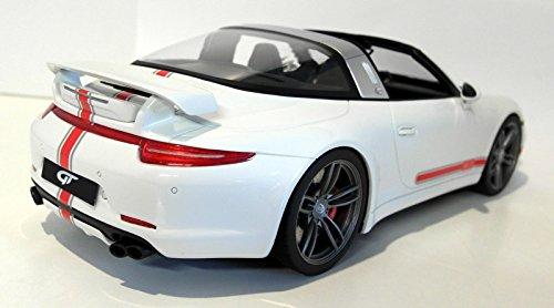 Amazon.com: Porsche 911 (991) Targa by Techart, white/Decorated, 0, Model Car, Ready-made, GT spirit 1:18: GT spirit: Toys & Games