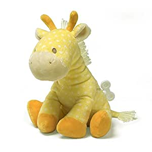 "Gund Lolly Musical Giraffe Waggie Keywind 8"" Plush"