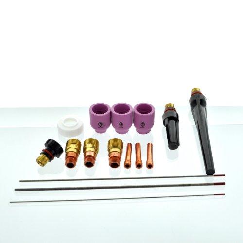 CK SGL-KITM Accessory Kit -Stubby Gas Lens. 4GL- 1/16, 3/32, 1/8 - Sgl Kit