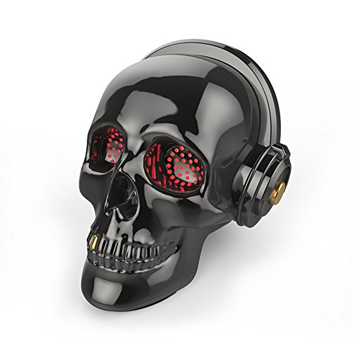 Skull Bluetooth Speaker SADAN LED Wireless Skeleton Speakers