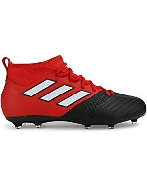 Kids ACE 17.1 FG Red/White/Core Black Shoes