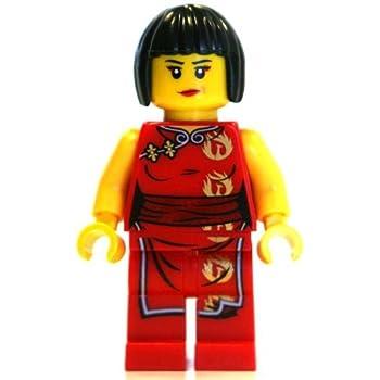 Amazon.com: LEGO Ninjago Minifigure - Nya Female Red Ninja