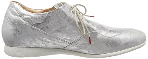 Think Raning_282095, Scarpe Stringate Brouge Donna Argento (Silber 04)