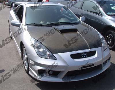 VIS 00-05 Toyota Celica Carbon Fiber Hood OEM T230/GT-S