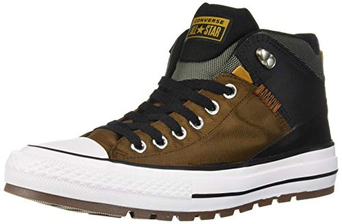 Converse Men's Chuck Taylor All Star High Top Sneaker Boot, Chestnut Brown/Black, 11 M US