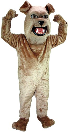 Sparky Bulldog Mascot Costume (Bulldog Mascot Costume)