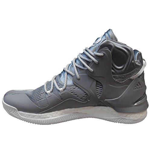 Adidas Men's D Rose 7 NBA Basketball Shoes (12, Light Onix/White/Light Onix)
