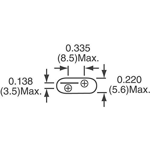 LITTELFUSE V82ZA12P ZA Series 68 VDC 50 V RMS 145 V Clamp 4500 A 2500 pF Radial Lead Varistor s 50 item