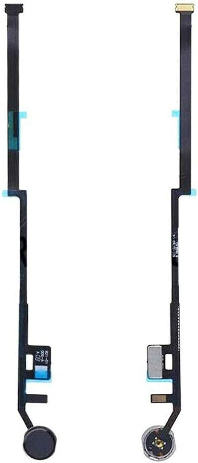 "GinTai A2197 A2198 A2200 Replacement for i Pad 7 10.2"" 2019 7th Gen Home Button Key Button Flex Cable (No Fingerprint Version, Color:Black)"