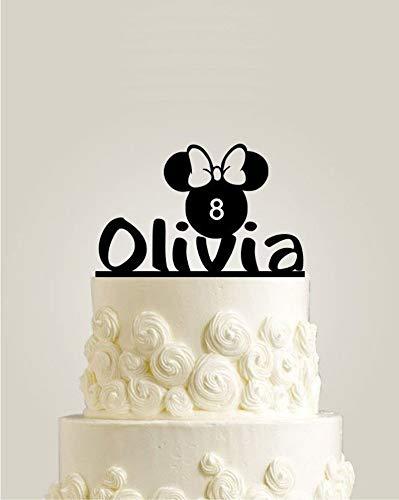 Decoración personalizada para tarta de cumpleaños, diseño de ...