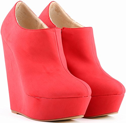 36 Plateforme Find 5 Nice Rouge EU Red Femme TqRwx