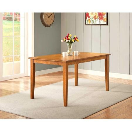 Amazoncom Better Homes and Gardens Bankston Dining Table Honey