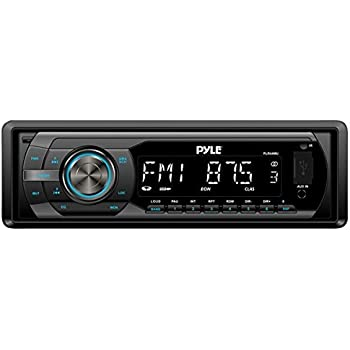 Pyle PLR34M In-Dash Stereo Radio Headunit Receiver USB//SD Reade.. Free Shipping