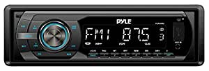 Pyle PLR44MU In-Dash AM/FM-MPX Detachable Face Receiver with MP3 Playback and USB/SD/Aux Inputs