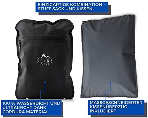 41hYQKZg%2ByL SENNS GEAR® Wasserdichter Packsack 15 Liter - Ultralight, Wasserfeste Tasche, YKK Zip, Cordura Material inkl…